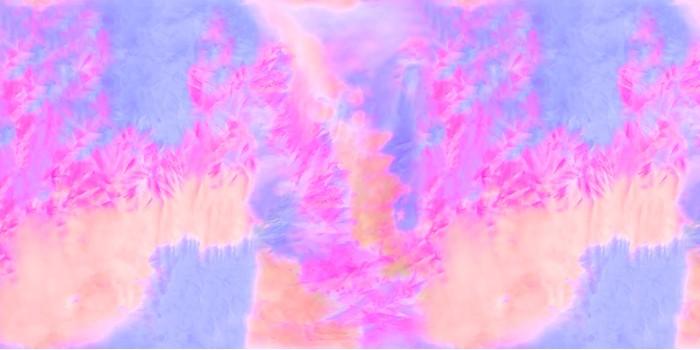 数码印花礼服的常用花型与面料